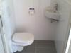 Toilet verbauwen met ophand pot.